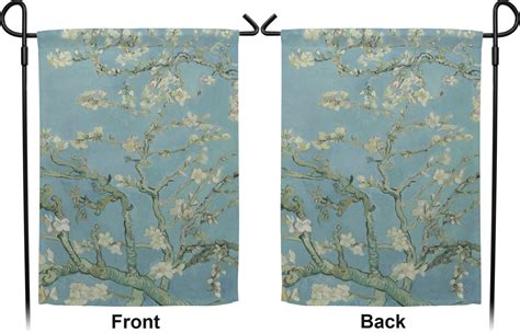 apple blossoms gogh sided garden flag with