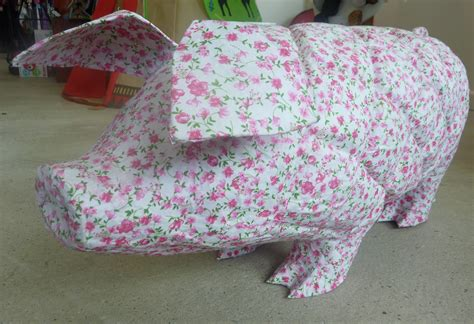 How To Make A Paper Mache Pig - how to make a paper mache pig 28 images crafts melinda