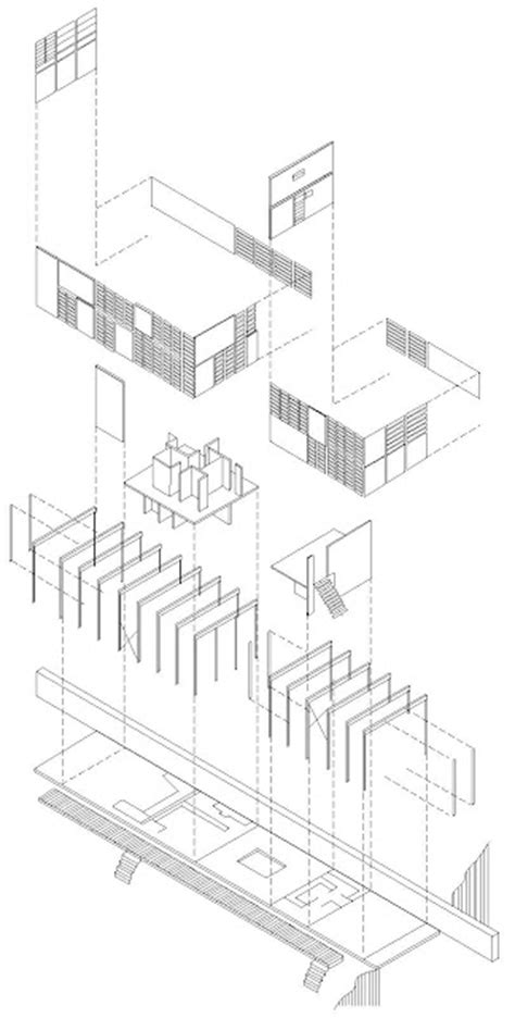 eames house dimensions eames house exploded axonometric of eames house