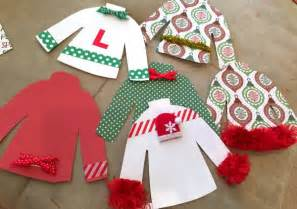 sweater diy ornaments c r a f t