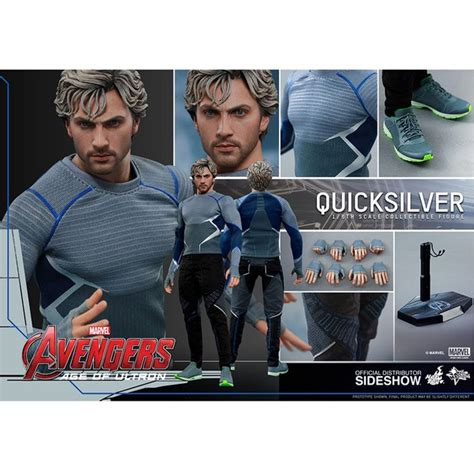 quicksilver movie toy hot toys marvel avengers age of ultron quicksilver 1 6