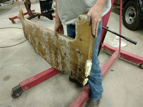 how to reinforce a fiberglass boat transom crestliner and lund transom repair