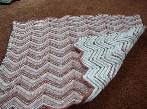 reversible ripple afghans free pattern 1000 images about reversible afghan on pinterest