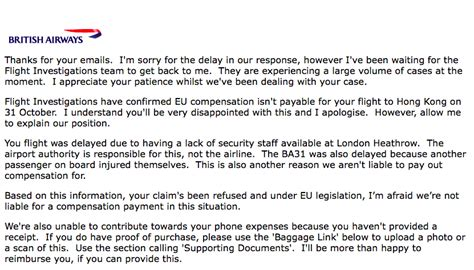 Complaint Letter To Qatar Airways how to resolve compensation disputes with airways