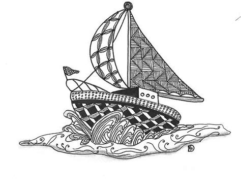 doodle boat 1045 best zentangle images on doodles photo