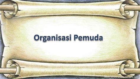sejarah indonesia xi organisasi pergerakan nasional