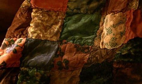 Velvet Patchwork - velvet patchwork quilt for the home