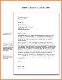 Application Letter Sample For Marketing Job 10 Examples Of Unsolicited Application Letter Bussines
