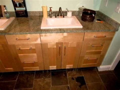 can i use kitchen cabinets in the bathroom designs ikea kitchen bath remodel with ikea cabinets youtube