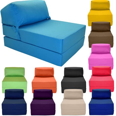 foam futon couch single chair bed z guest fold out futon sofa chairbed