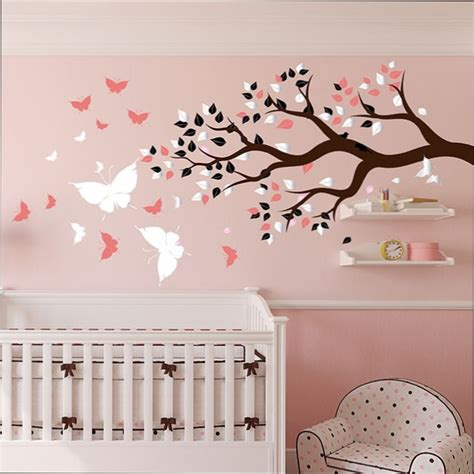 Stickers Bebe Chambre by Chambre Fille Stickers Chambre B 233 B 233 Fille Arbre