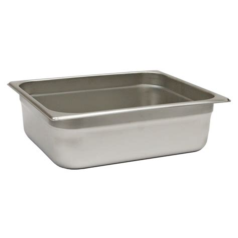 half size steam table pans browne foodservice 22124stp steam table pan half size 4