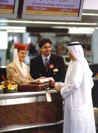 emirates online check in time birmingham airport to dubai airport