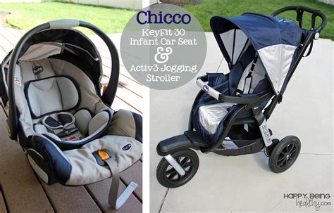 car seat and stroller the chicco keyfit 30 car seat and activ3 stroller