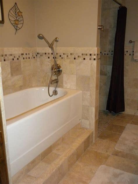 raised tub and shower raised bath tub standard bathtub