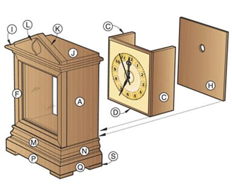 woodworking plans clock small plywood boat plans
