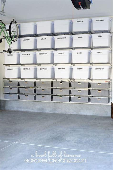 Best Storage Shelves For Garage by 15 Best Ideas About Garage Shelving On Diy