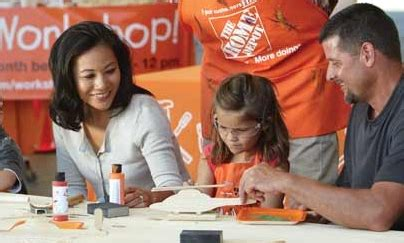 home depot free workshop march 7th my frugal