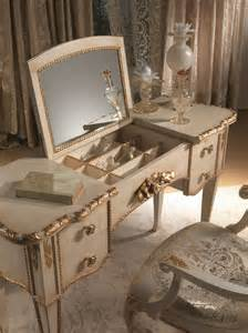 Vanity Table And Chair With Lights Mirrored Makeup Storage Is A Stylish Way To Unclutter The