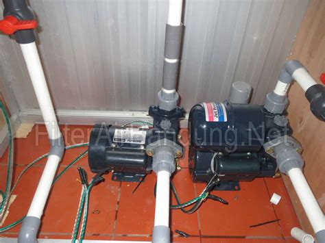 Pompa Air Minum Kick On depot air minum isi ulang bandung