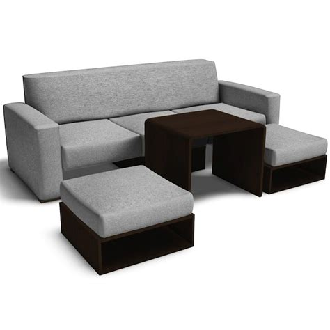 Fred Leighton Sofabed Set (Light Gray)   Furniture Source