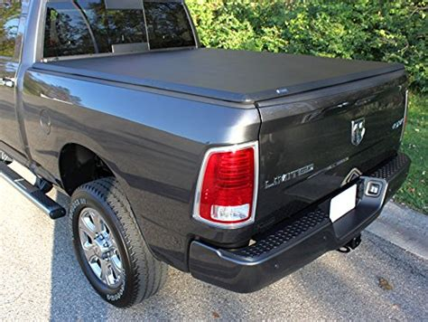 truck bed covers for dodge ram 1500 tyger tri fold pickup tonneau cover fits 02 15 dodge ram