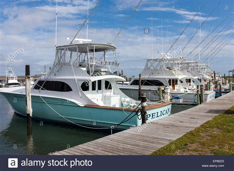 charter boat fishing oregon inlet a fleet of charter fishing boats docked at the marina of