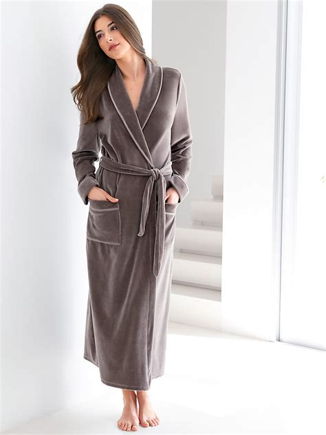 la robe de chambre hahn la robe de chambre graphite