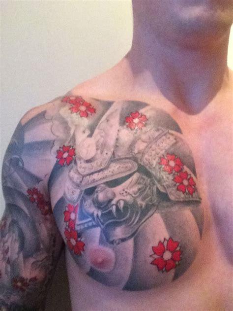 floral chest best design ideas collection of 25 samurai helmet blossoms and cloud