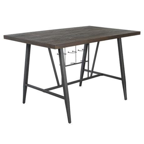 Dining Table With Wine Rack by Primo International Franklin Counter Height Dining Table