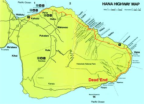 printable road to hana map maps update maui tourist attractions map map 604496
