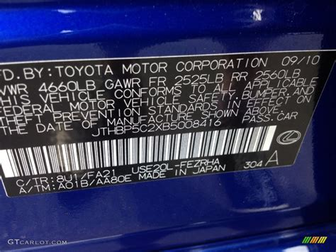 lexus blue color code f sport blaque bd 8 2014 lexus is250 f sport