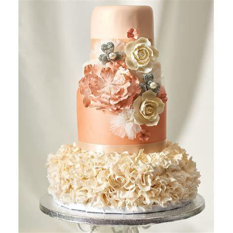 Rose Gold Wedding Cake Design   DecoPac