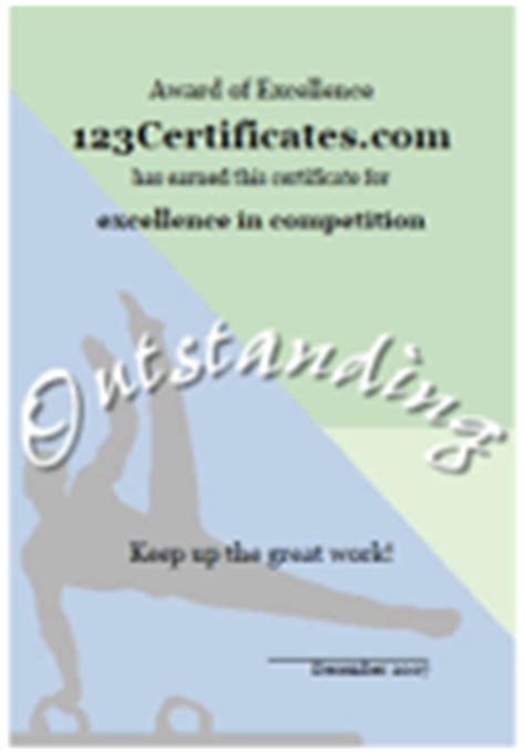 gymnastics certificate template free printable gymnastics certificates and gymnastics awards