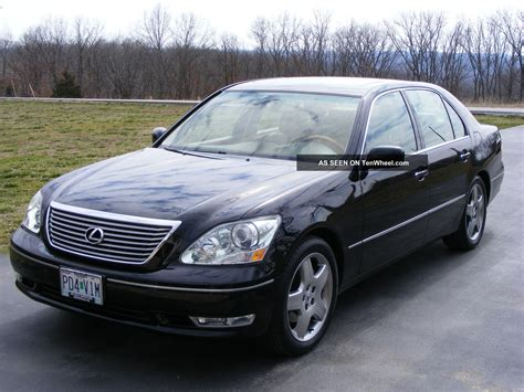 lexus sedan 2005 2005 lexus ls430 sedan 4 door 4 3l