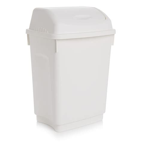 bathroom swing bin wilko swing bin 12l at wilko com
