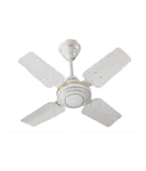 ceiling fan guard v guard 600 mm zest 24 4 blade regular ceiling fan white