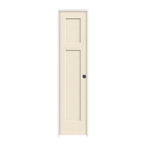 Jeld Wen 18 In X 80 In Craftsman Primed Left Hand Smooth 22 Inch Prehung Interior Door