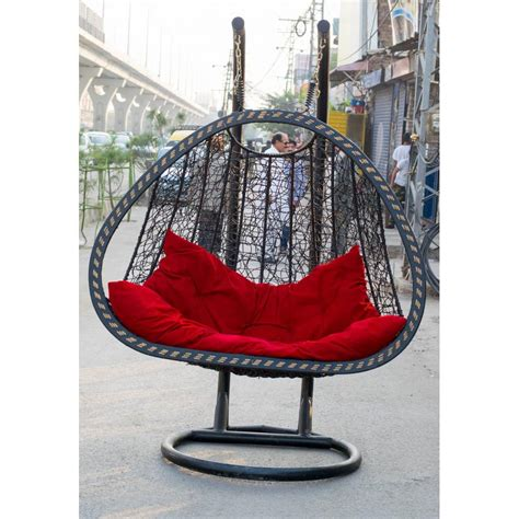 acrylic swing chair swing chair plastic weaving double