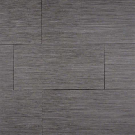 Msi Focus Graphite 12 X 24 Porcelain Wood Lookfield Tile