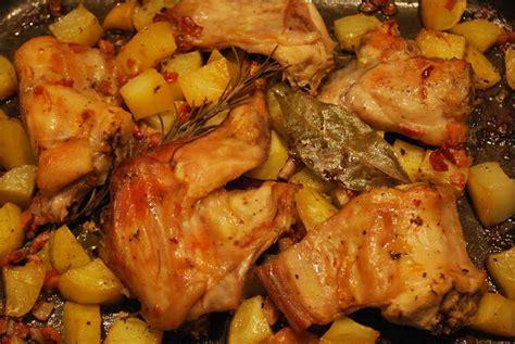 cucinare il coniglio al forno coniglio al forno con patate gourmetdaniela