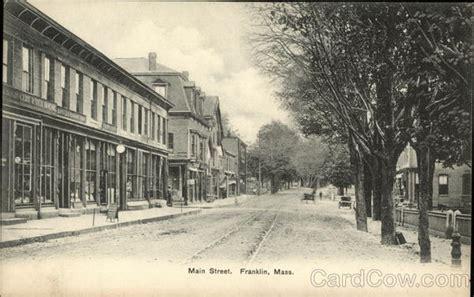 franklin ma postcard