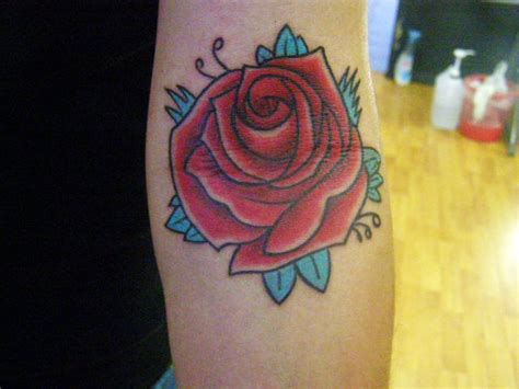 rose old school tattoo school pictures to pin on tattooskid