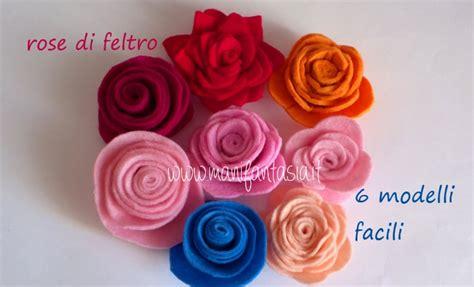 fiori feltro modelli tutorial fiori di pannolenci il girasole manifantasia