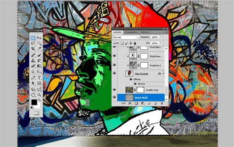 tutorial photoshop graffiti how to create a graffiti effect in adobe photoshop