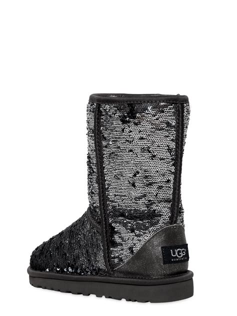 multi colored uggs ugg black multi sparkle boots