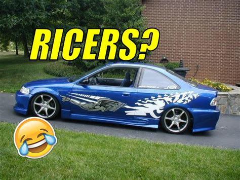ricer cars the importance of ricers in the car community geeks with