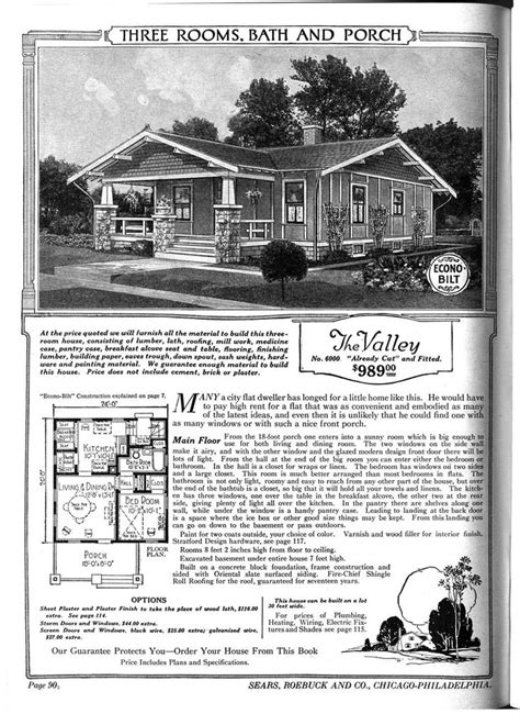 sears catalog home quot the valley quot sears houses