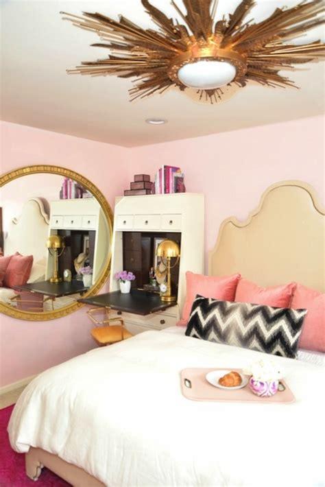 pink black and gold bedroom pink bedroom ideas eclectic bedroom dalliance design
