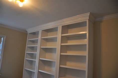 Bookcase Moulding bookcase with crown molding flickr photo